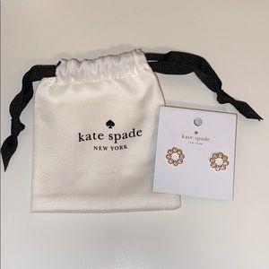 NWT Kate Spade New York Full Circle Earrings